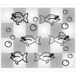 Coole Fische 21 Stück