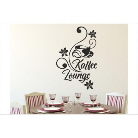 Küche Kaffee Lounge Tasse Coffee Café Esszimmer Aufkleber Dekor Wandtattoo  Wandaufkleber - Der Dekor Aufkleber Shop