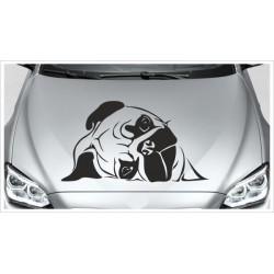 Aufkleber Mops Hund Welpe Autoaufkleber Car Style Tattoo Sticker
