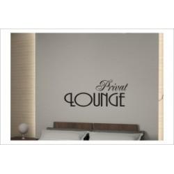 Privat Lounge Liebe Zweisamkeit Wandaufkleber Wandtattoo Aufkleber Wand Tattoo Schlafzimmer