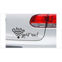 DUB FUN OEM JDM Aufkleber Mini FUN Ohne W-LAN Auto Aufkleber Sticker