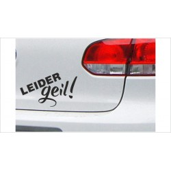 "DUB FUN OEM JDM Aufkleber Mini FUN ""Leider GEIL"" Auto Aufkleber Sticker"