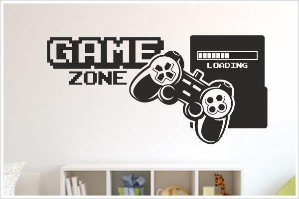 Dekoration Wandtattoo Wand Aufkleber Zocken Game Over Kontroller Gamer Ps Konsole 171 Mobel Wohnen Anakui Com