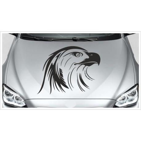 Adler Adlerkopf Feder Vogel Offroad Wild Free Auto Aufkleber Motorhaube Car Style Tattoo