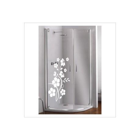 Glas Dekor Aufkleber Blüten Baum Strauch Blumen  Tribal Tattoo Fenster, Lack & Glas