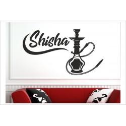 Shisha Lounge Bar Rauchen Hookah Tabak Wandaufkleber Aufkleber Wand Wandtattoo