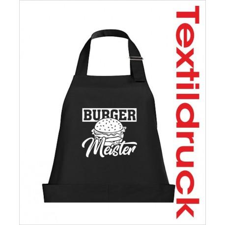 Schürzen KOCH & GRILL Burger Meister Grillen Männer Schürze Grillschürze Kochschürze Geschenk Fun