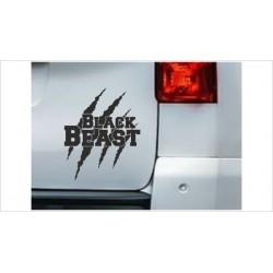 DUB FUN OEM JDM Aufkleber Black Beast Monster Kralle  Auto Aufkleber Sticker