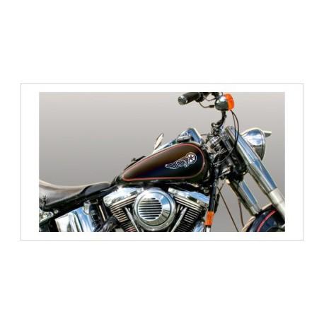 Motorrad Aufkleber-SET 07