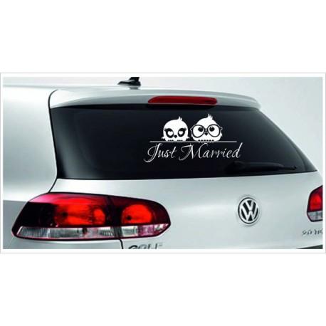 Just Married HOCHZEIT 16