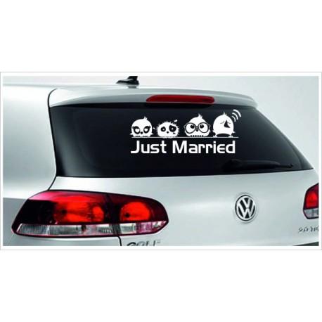 Just Married HOCHZEIT 18