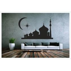 Wandaufkleber WOHNZIMMER Islam