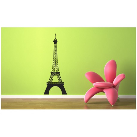 Wandaufkleber WOHNZIMMER 158 Eiffelturm