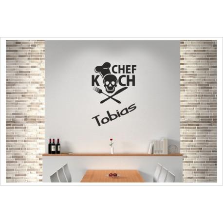 Küche Wandaufkleber