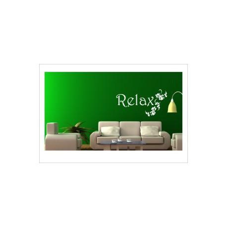 Relax Erholung Entspannung chillen Aufkleber Wandtattoo Wandaufkleber
