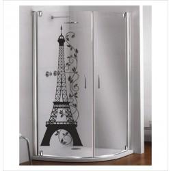 Glas Dekor Aufkleber EIFELTURM Paris 45 Fenster Lack & Glas
