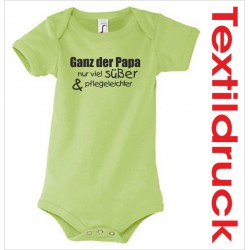 Babybody Body Spruch Text