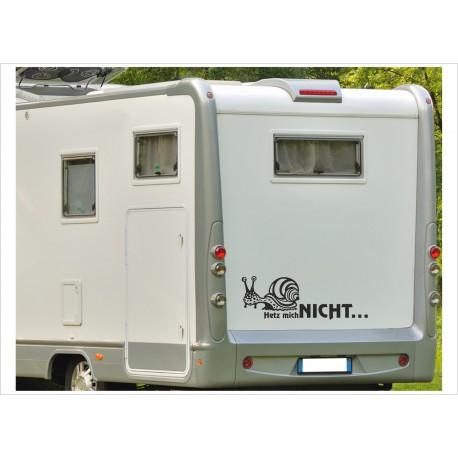 Aufkleber Wohnmobil Wohnwagen Dekor Schnecke 4