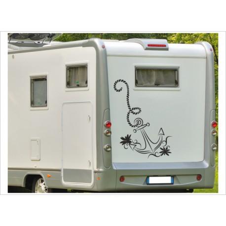 Aufkleber Wohnmobil Wohnwagen Dekor