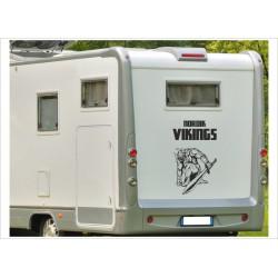 Aufkleber Wohnmobil Wohnwagen Dekor Nordic Viking Wikinger 26