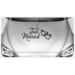 Just Married HOCHZEIT Herz Dekor Ehe Liebe Romantik 47