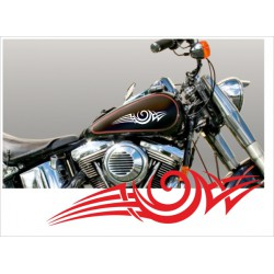 Motorrad Aufkleber Sticker Tattoo Bike Chopper Tribal 16