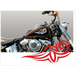 Motorrad Aufkleber Sticker Tattoo Bike Chopper Tribal 17