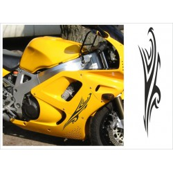 Motorrad Aufkleber Sticker Tattoo Bike Chopper Tribal 20