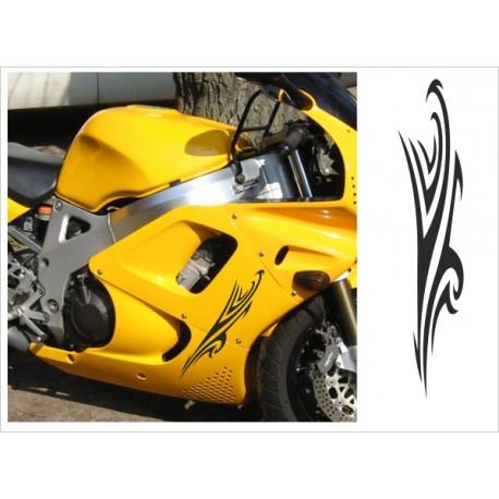 Motorrad Aufkleber Sticker Tattoo Bike Chopper Tribal 20