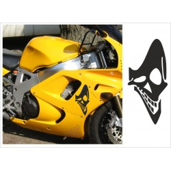 Motorrad Aufkleber Sticker Tattoo Bike Chopper Tribal 22 Skull Smile