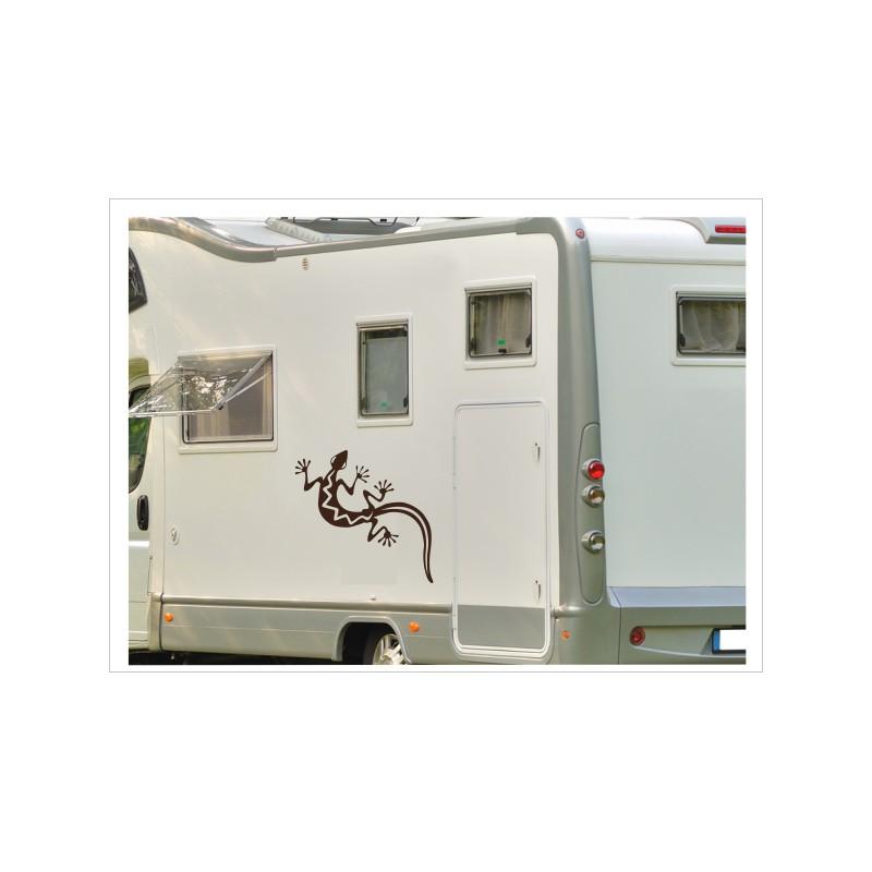 Wohnmobil Wohnwagen Caravan Camper Gecko Echse 58 Aufkleber Set Der Dekor Aufkleber Shop