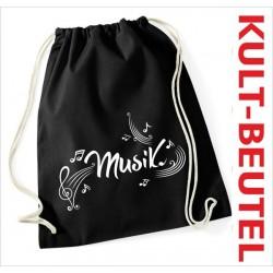 Turnbeutel Rucksack KULT Kinder Gym Sport Tasche Spruch Musik Swing