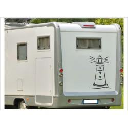 Wohnmobil Wohnwagen Caravan Camper Woma Leuchtturm See Meer Nordlicht