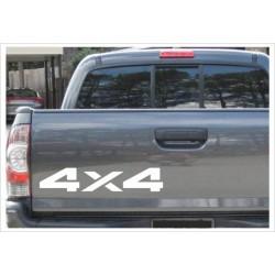 4x4 Aufkleber Offroad Allrad Tuning Sticker