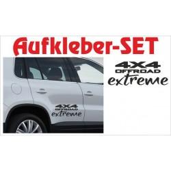 Offroad Motive Aufkleber SET 4x4 Safari Gelände Land 4x4 OFF extreme