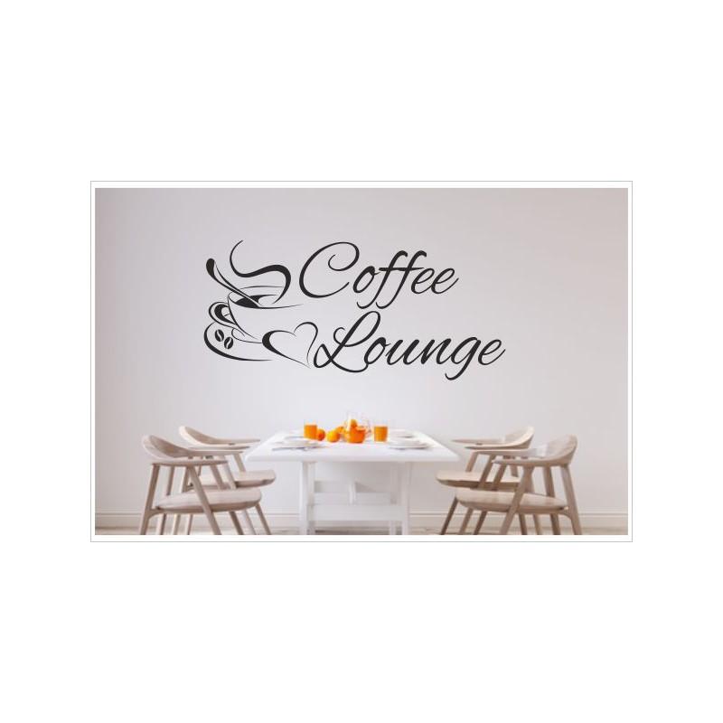 Küche Esszimmer Kaffee Tasse Coffee Lounge Aufkleber Dekor ...