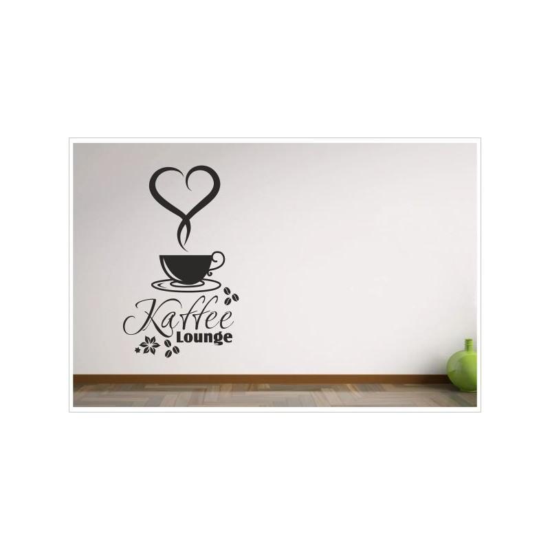Kaffee Küche Esszimmer Coffee Lounge Tasse Herz Blumen Dekor ...