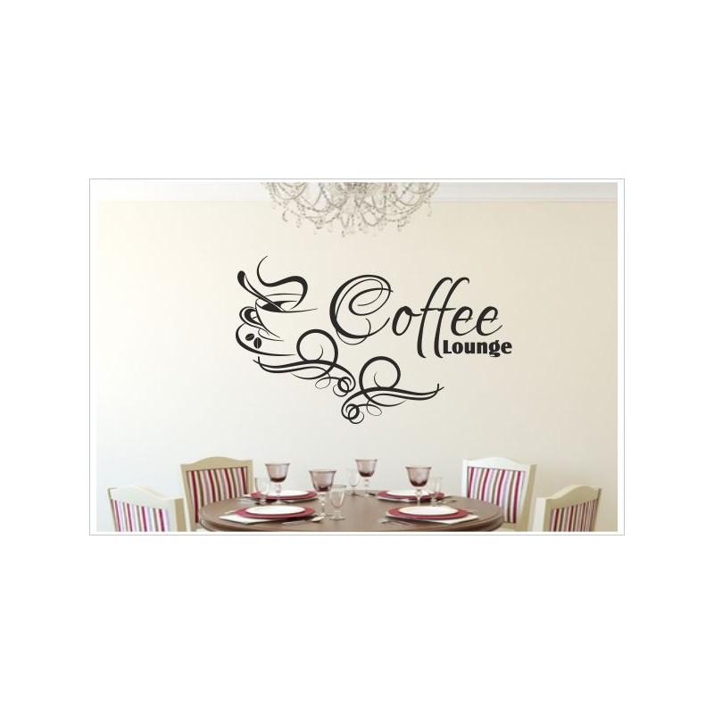 Küche Esszimmer Kaffee Tasse Coffee Lounge Dekor Aufkleber Dekor ...