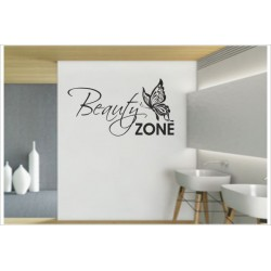 Bad Beauty Zone Schmetterling Dekor Aufkleber Tattoo Spa Wandaufkleber Wandtattoo