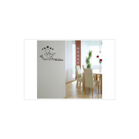 5 Sterne Küche Wandaufkleber Wandtattoo Aufkleber Küche Essen Genießen Kochen
