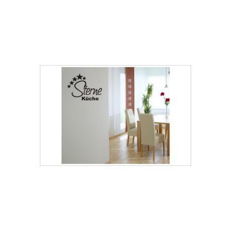Sterne Küche Wandaufkleber Wandtattoo Aufkleber Küche Essen Genießen Kochen