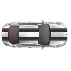 Rennstreifen Viper Streifen Dekor Streifen Racing Waben Muster Tuning 8m / 14 cm