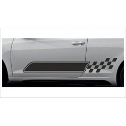 2x Dekorstreifen Seitenaufkleber Rennstreifen Viper Race  Racing Tuning Aufkleber Auto