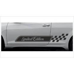 2x Dekorstreifen Seitenaufkleber Rennstreifen Viper Race Limited Edition  Tuning Aufkleber Auto