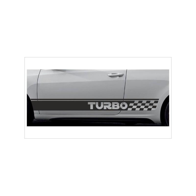 2x Dekorstreifen Seitenaufkleber Rennstreifen Viper Racing Turbo Tuning Aufkleber Auto Der Dekor Aufkleber Shop