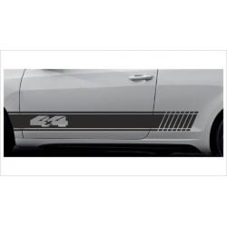 2x Dekorstreifen Seitenaufkleber Rennstreifen Viper Race  4x4 Offroad Tuning Aufkleber Auto