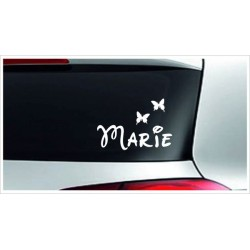 Babyaufkleber Auto Aufkleber + Wunschname Baby on Tour on Board Sticker  Farbe & Name wählbar