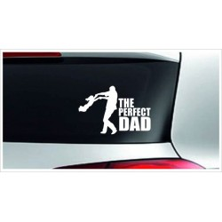 Baby On Tour The Perfect Dad Papa Kind Babyaufkleber