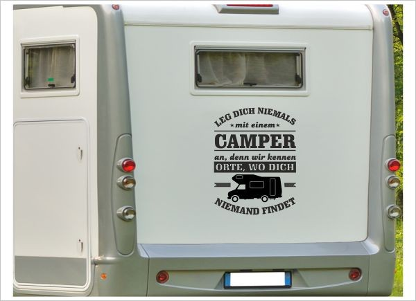 wohnwagen sprüche Aufkleber Wohnmobil Wohnwagen Auto Spruch Camper Caravan WOMA  wohnwagen sprüche