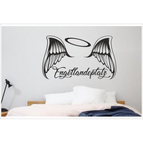 Aufkleber Tattoo Schlafzimmer Engel Landeplatz Flügel Feder ...